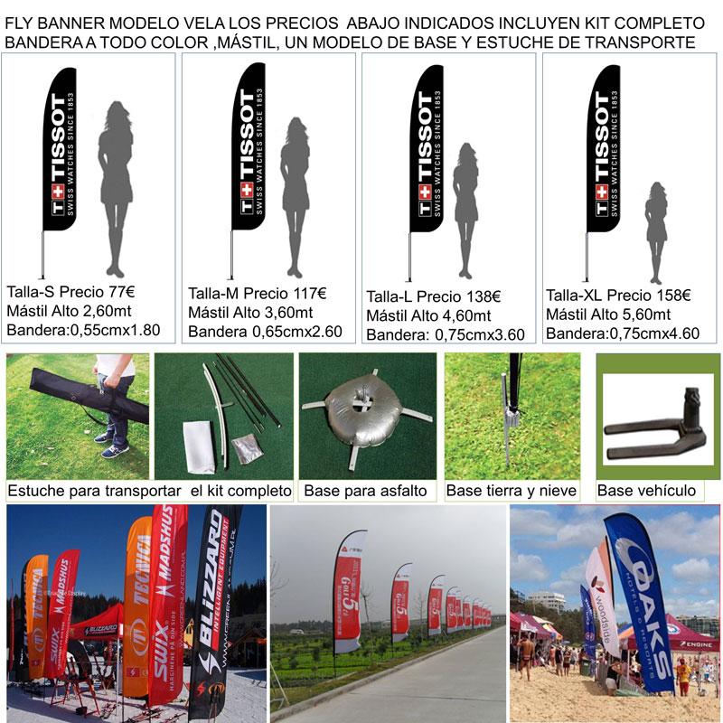 Fly banner modelo ALA
