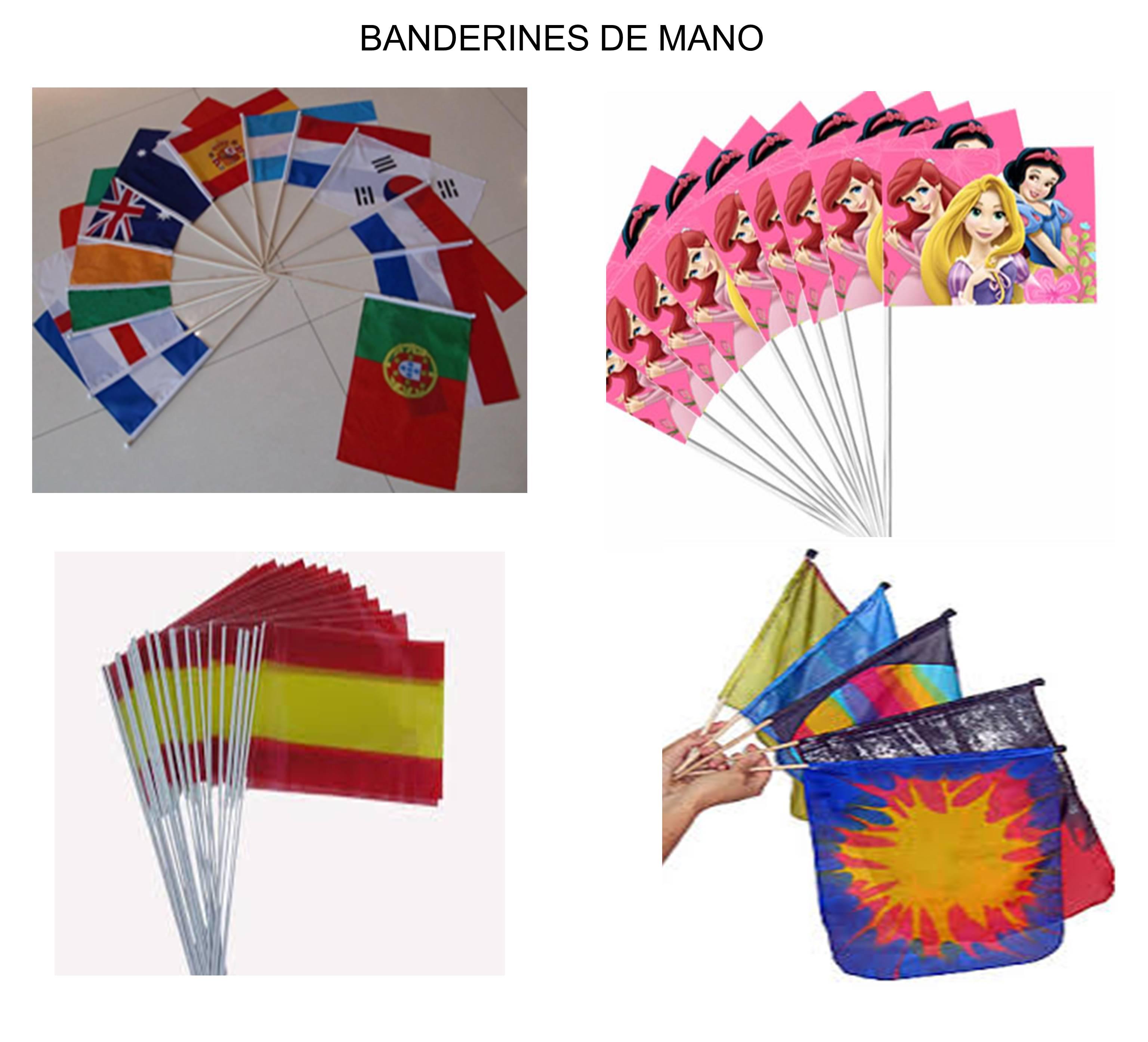 Banderines de Mano