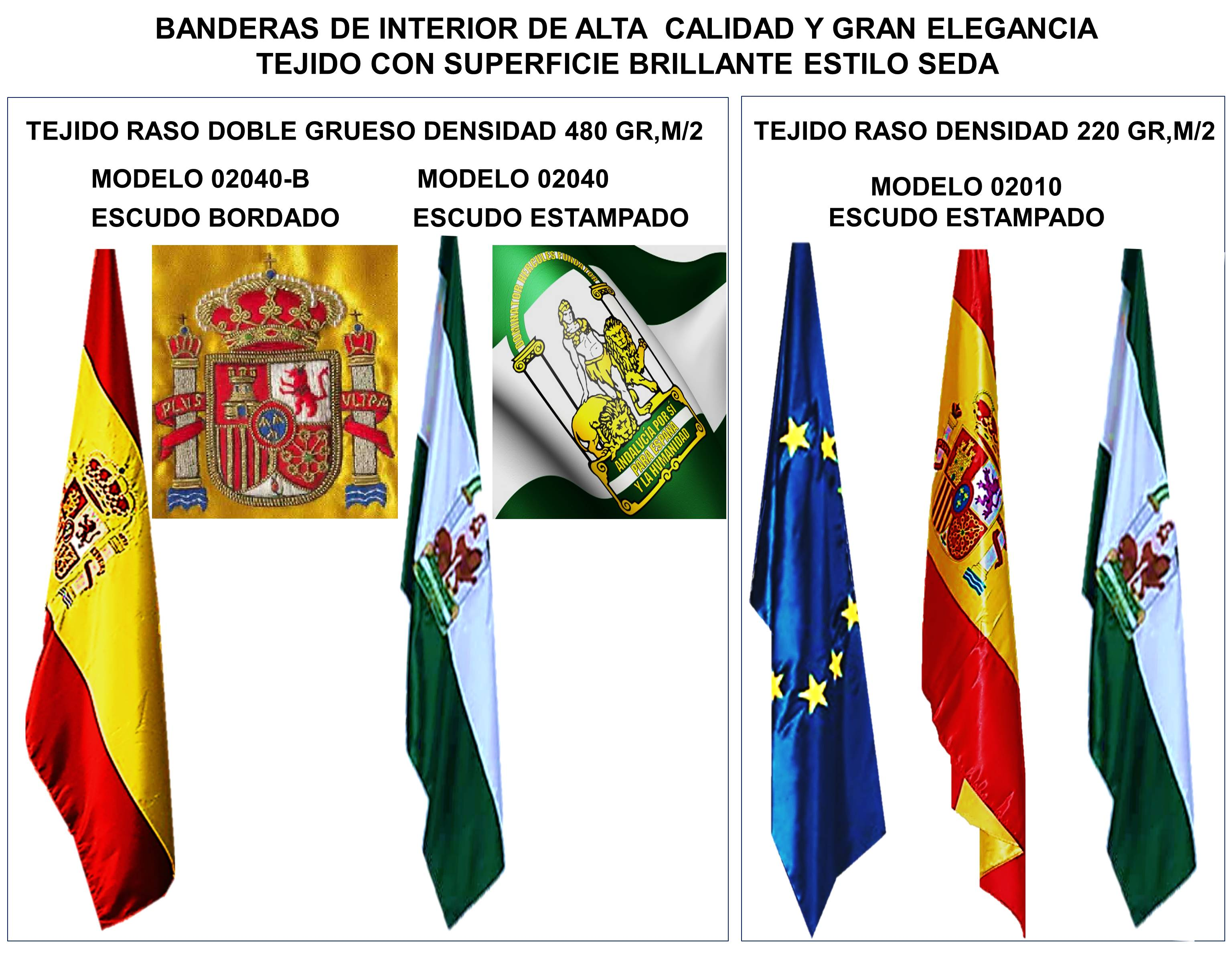 Banderas para interior oficinas despachos fabricacion y venta de todos los paises del mundo comunidad autonomía localidad personalizadas
