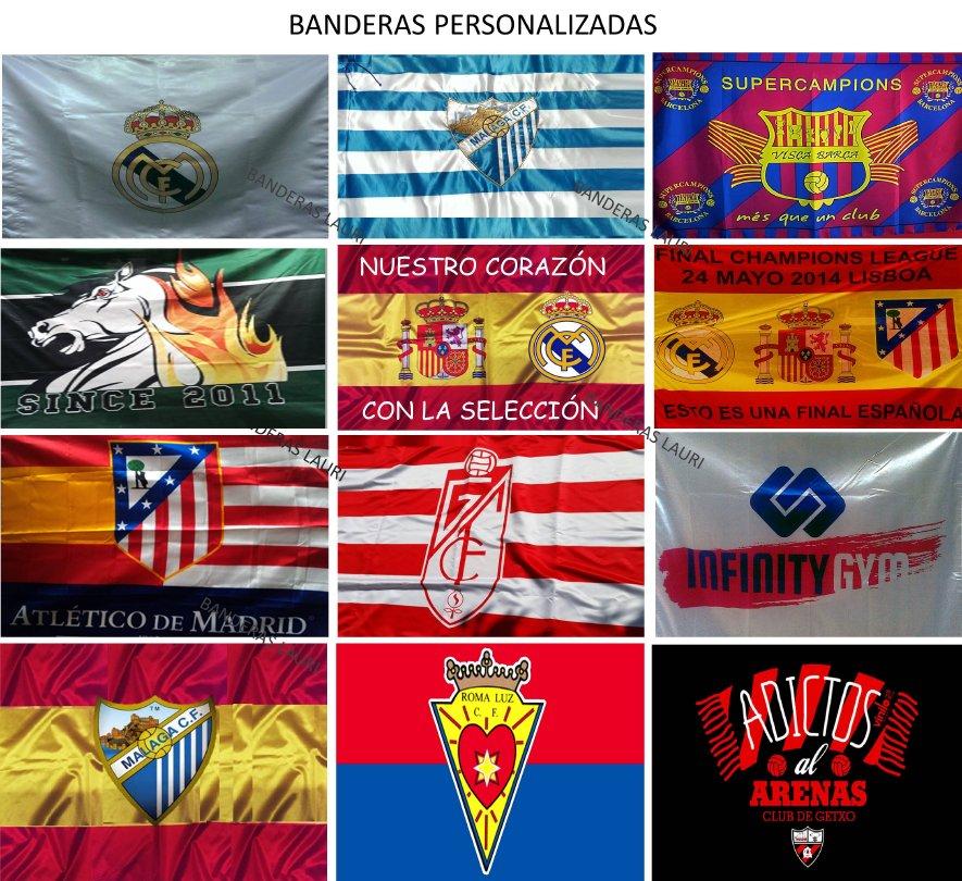 Banderas de Exterior Personalizadas