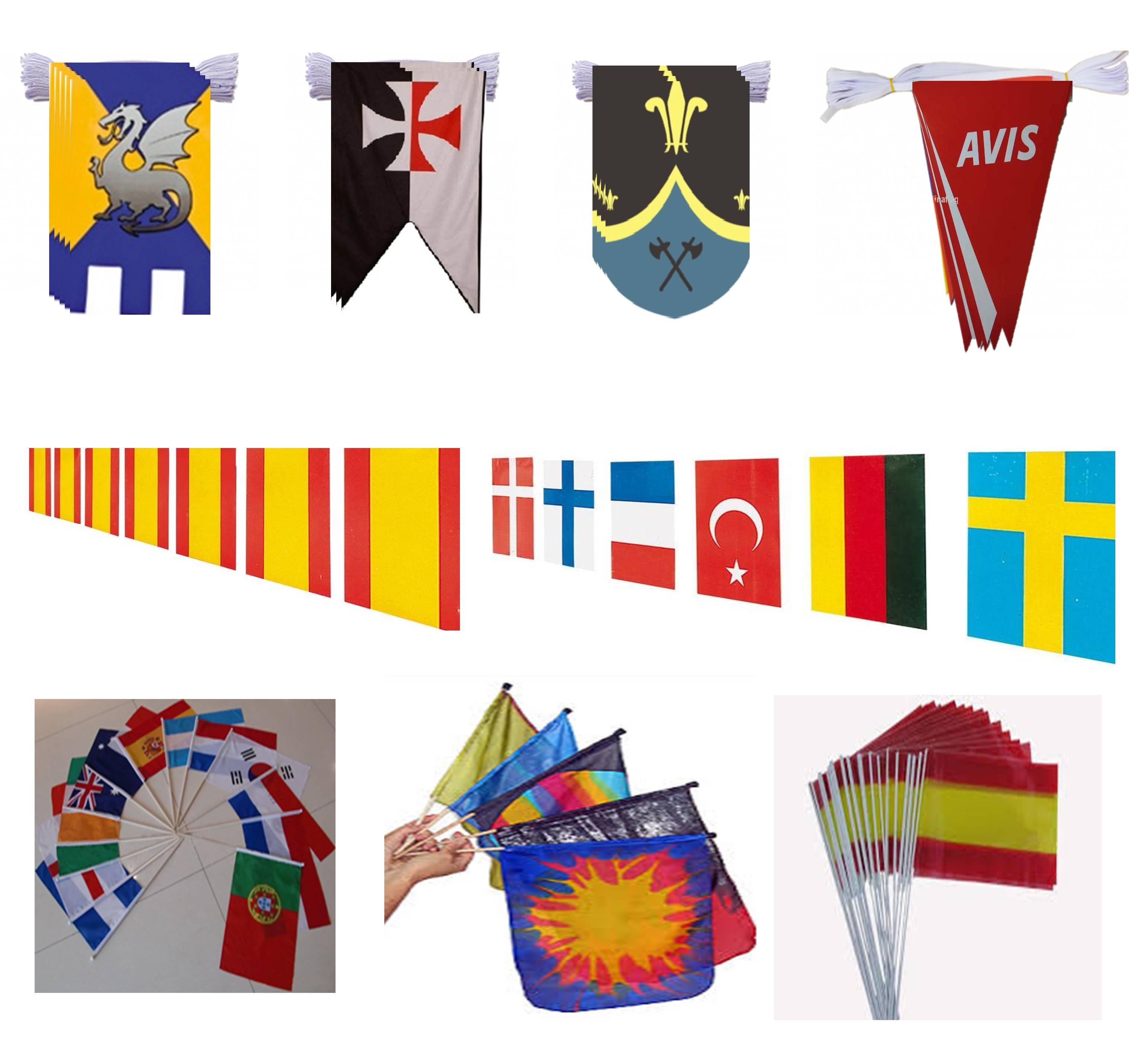 Venta de Banderas | Banderines en Tiras