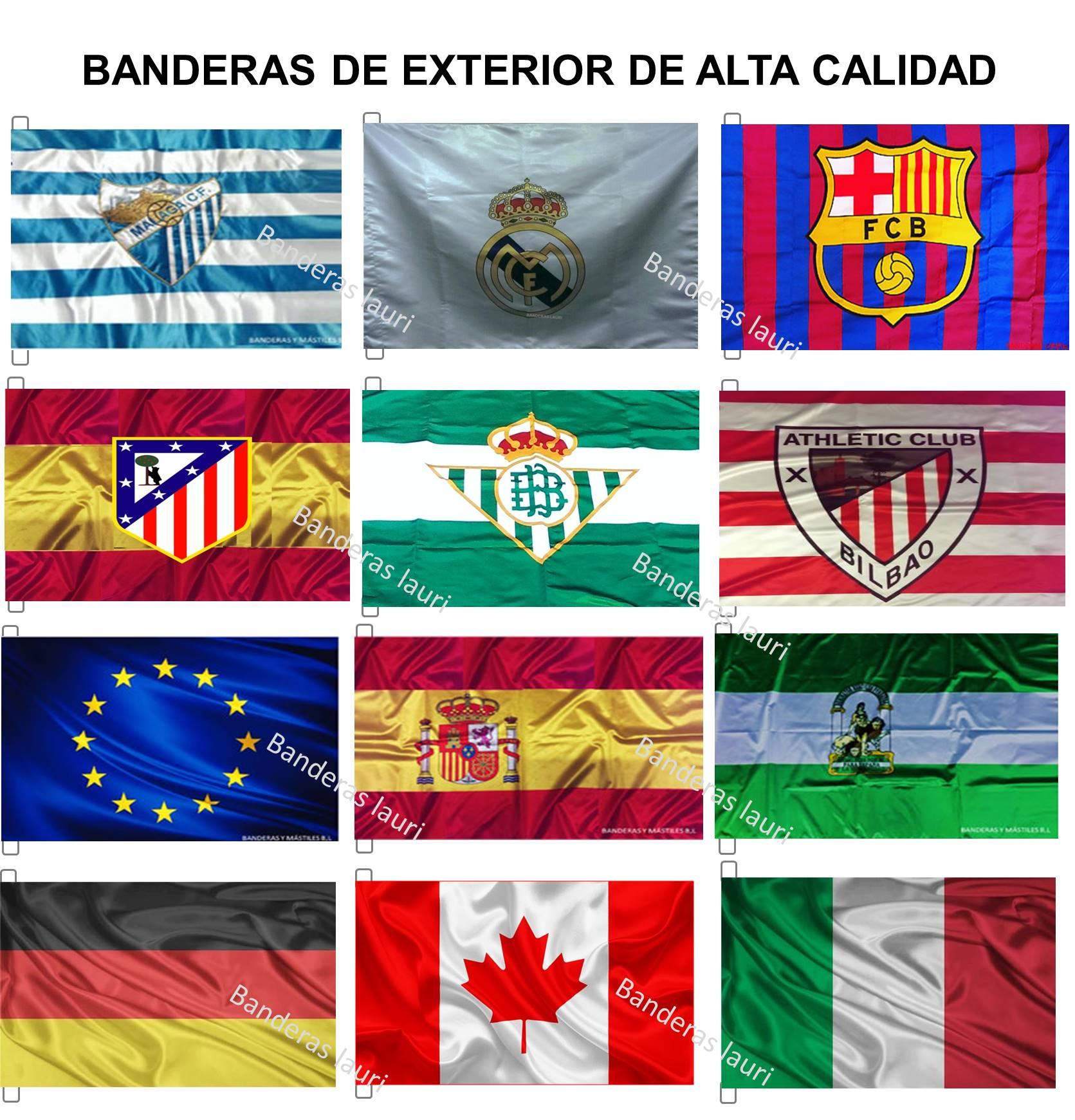 Fabrica y Venta Donde COMPRAR Banderas de Exterior