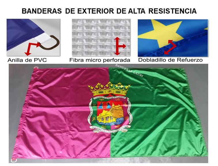 bandera de exterior