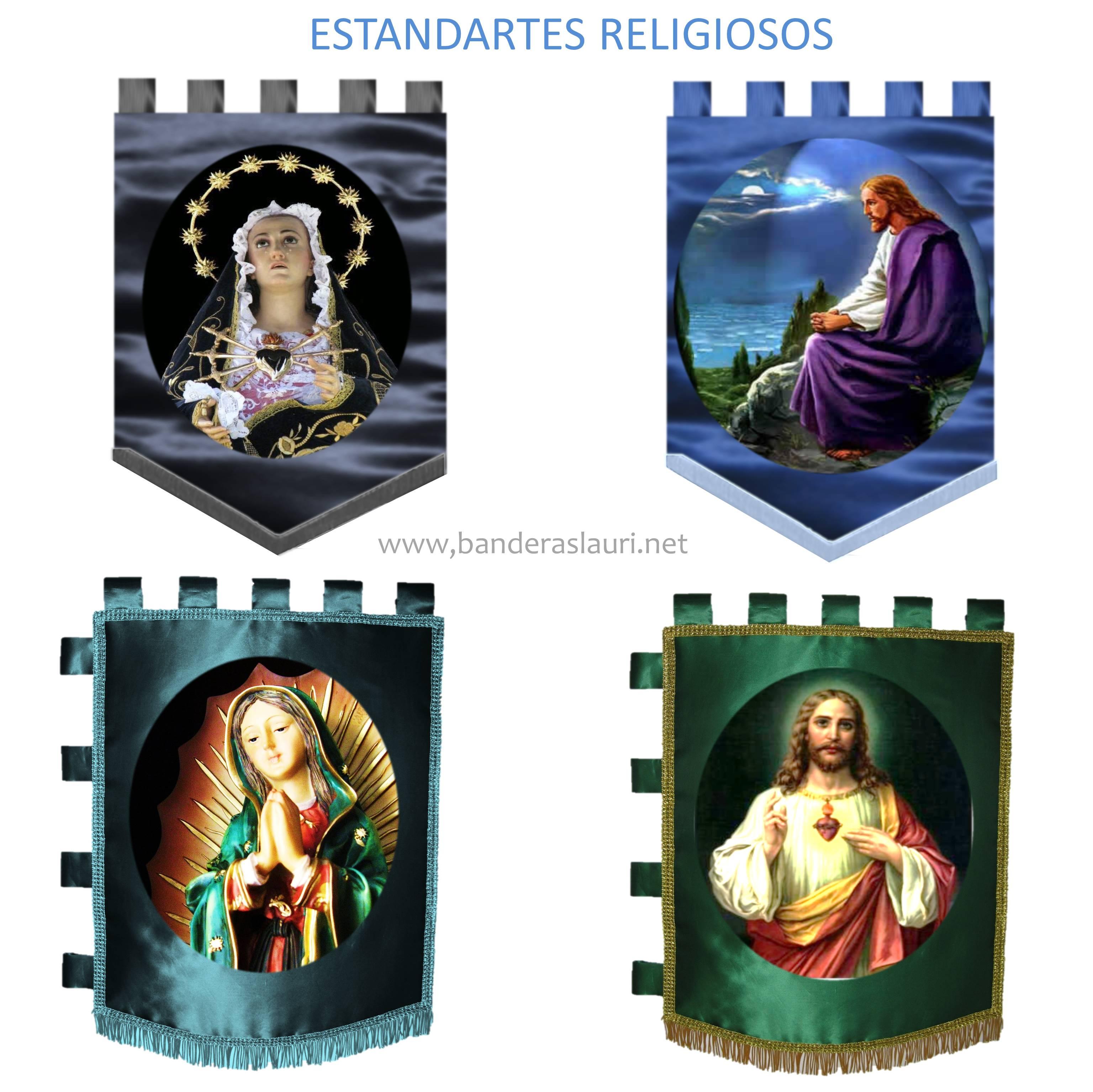 estandartes religiosos