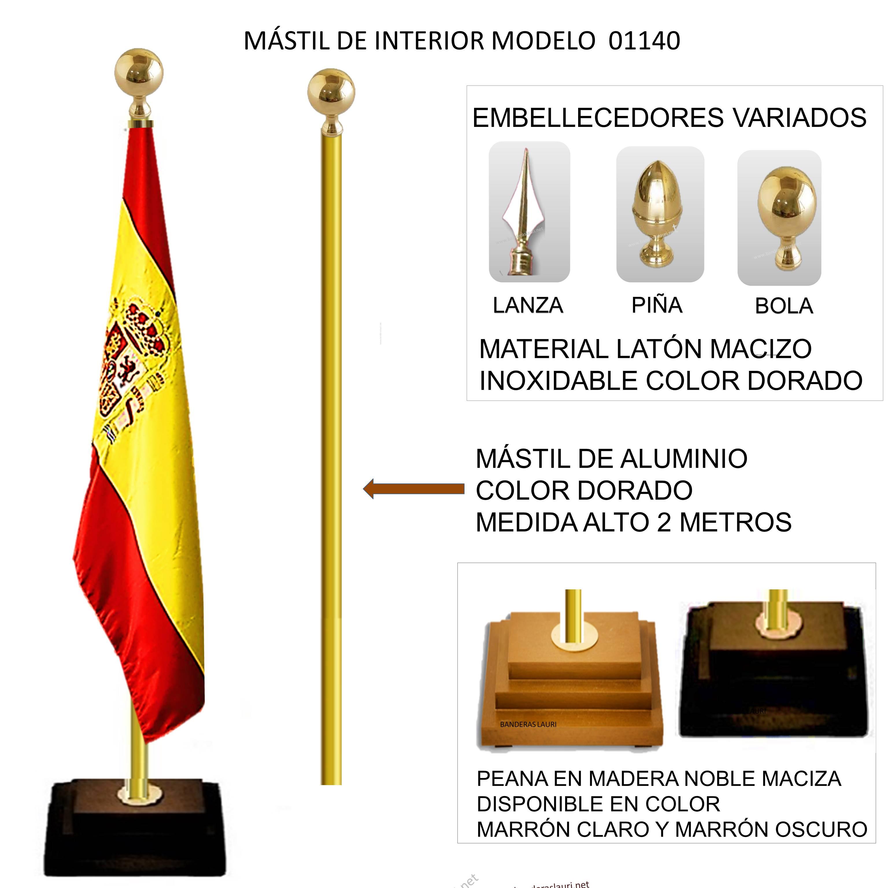 MASTILES DE INTERIOR MODELO 01140