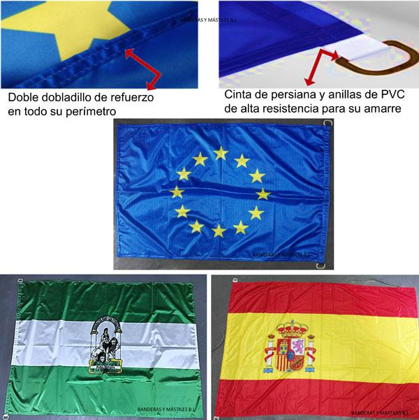Comprar banderas mastiles