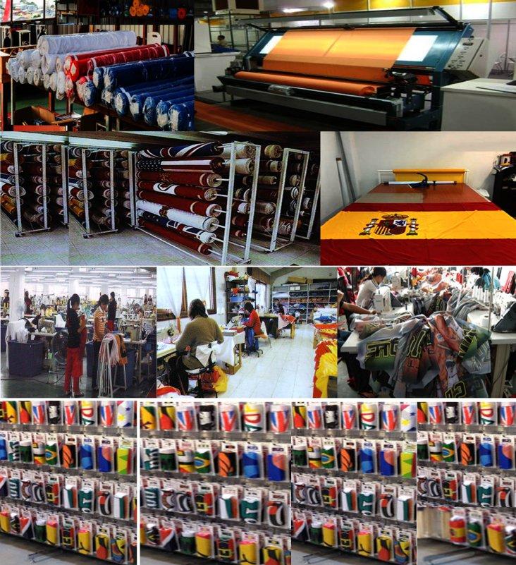 Fabrica venta comprar banderas de exterior interior paises personalizadas