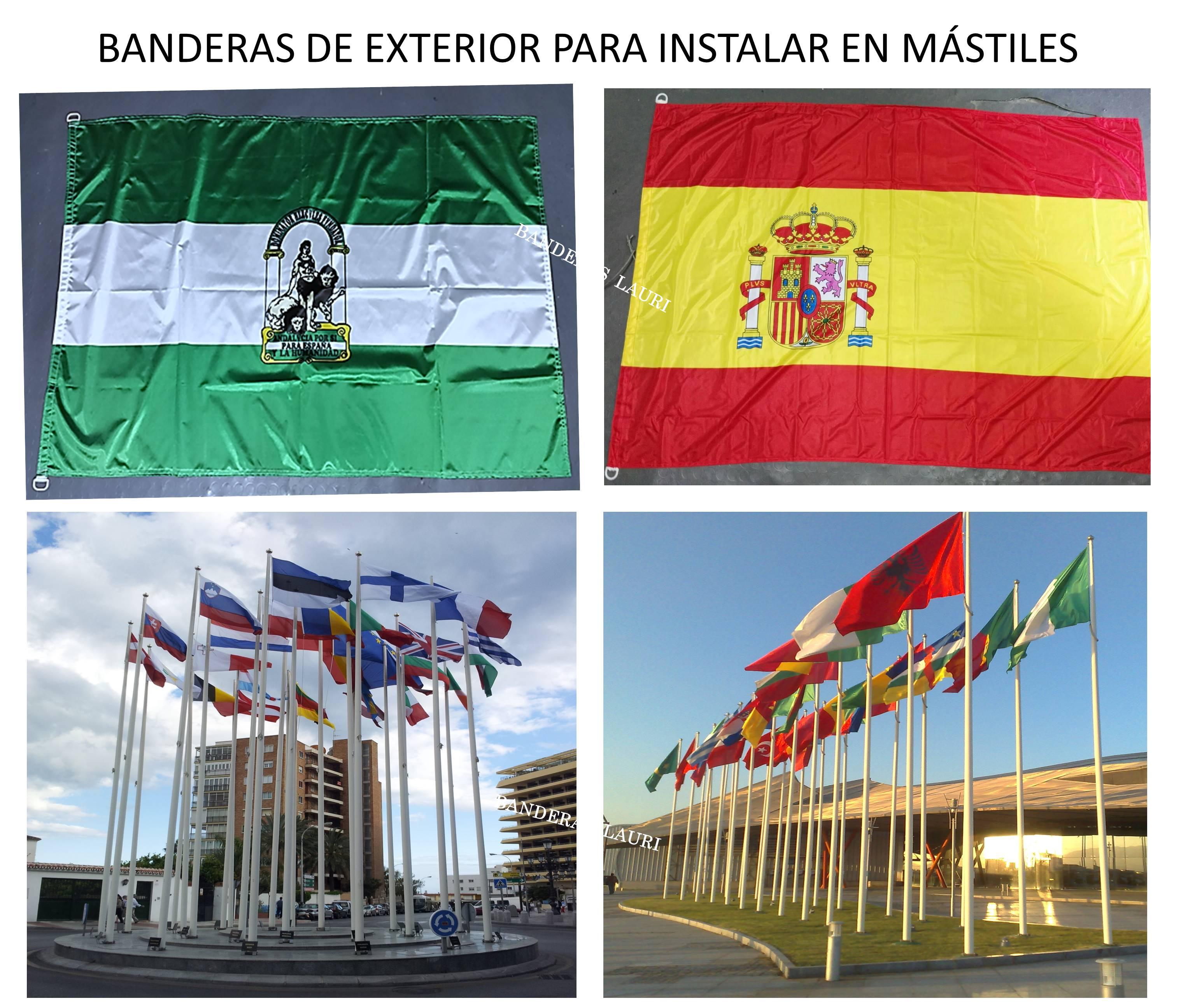 Venta de banderas - banderas de interior y exterior