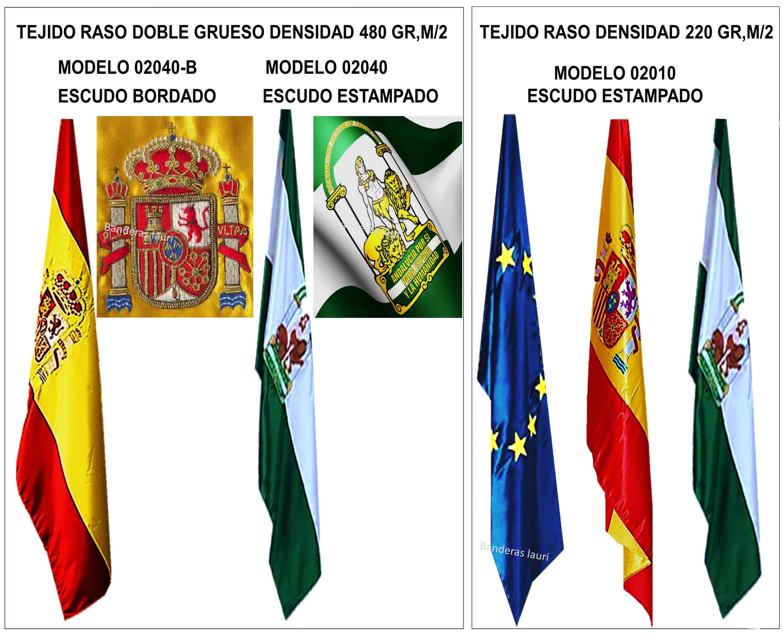 banderas de interior para oficinas despachos salas juzgados colegios