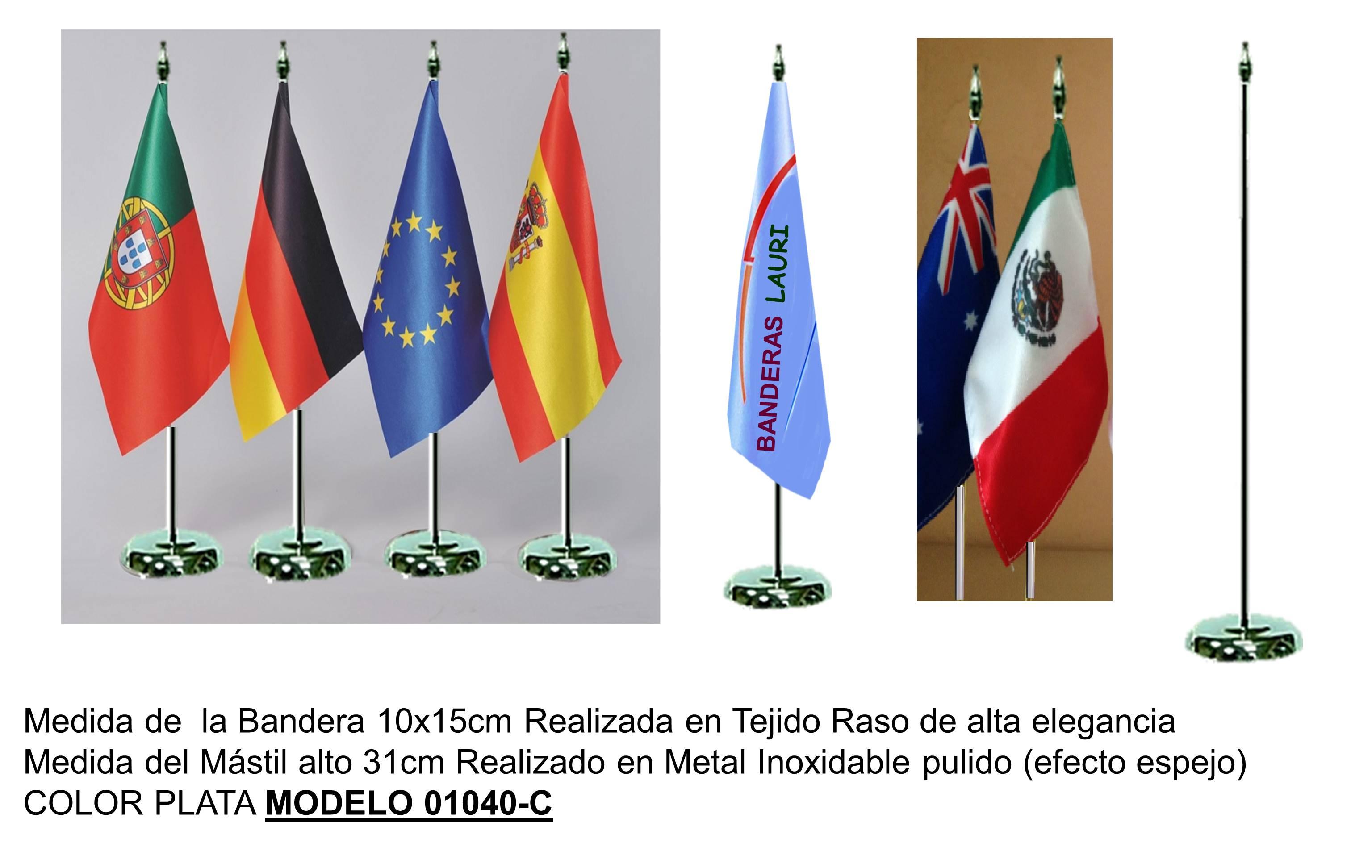 Banderines de Sobremesa Astas de interior Peanas de interior Mástiles Banderines Banderas de interior