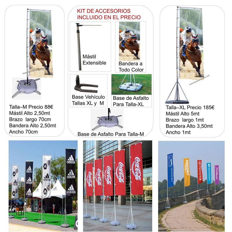 Mástiles de Exterior para Banderas Fabricación y venta directa de mástiles de banderas para Exterior