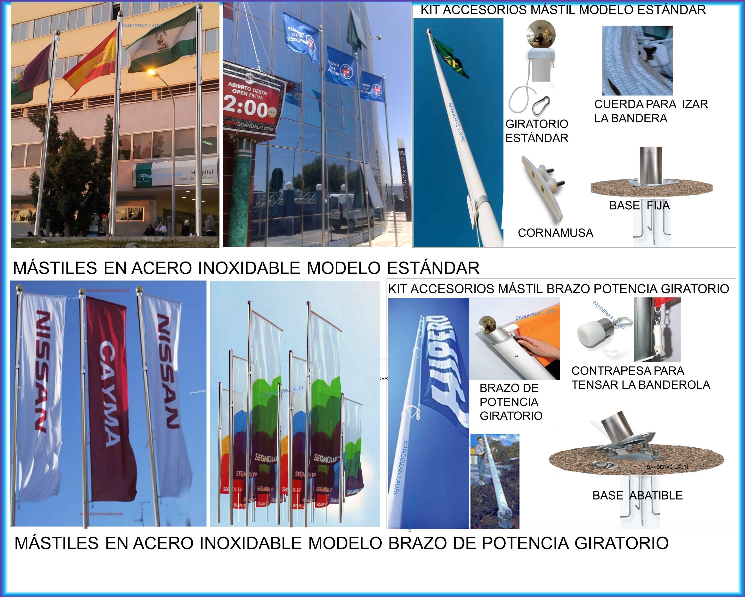 Venta y Fabricación Comprar Mastiles Para Banderas