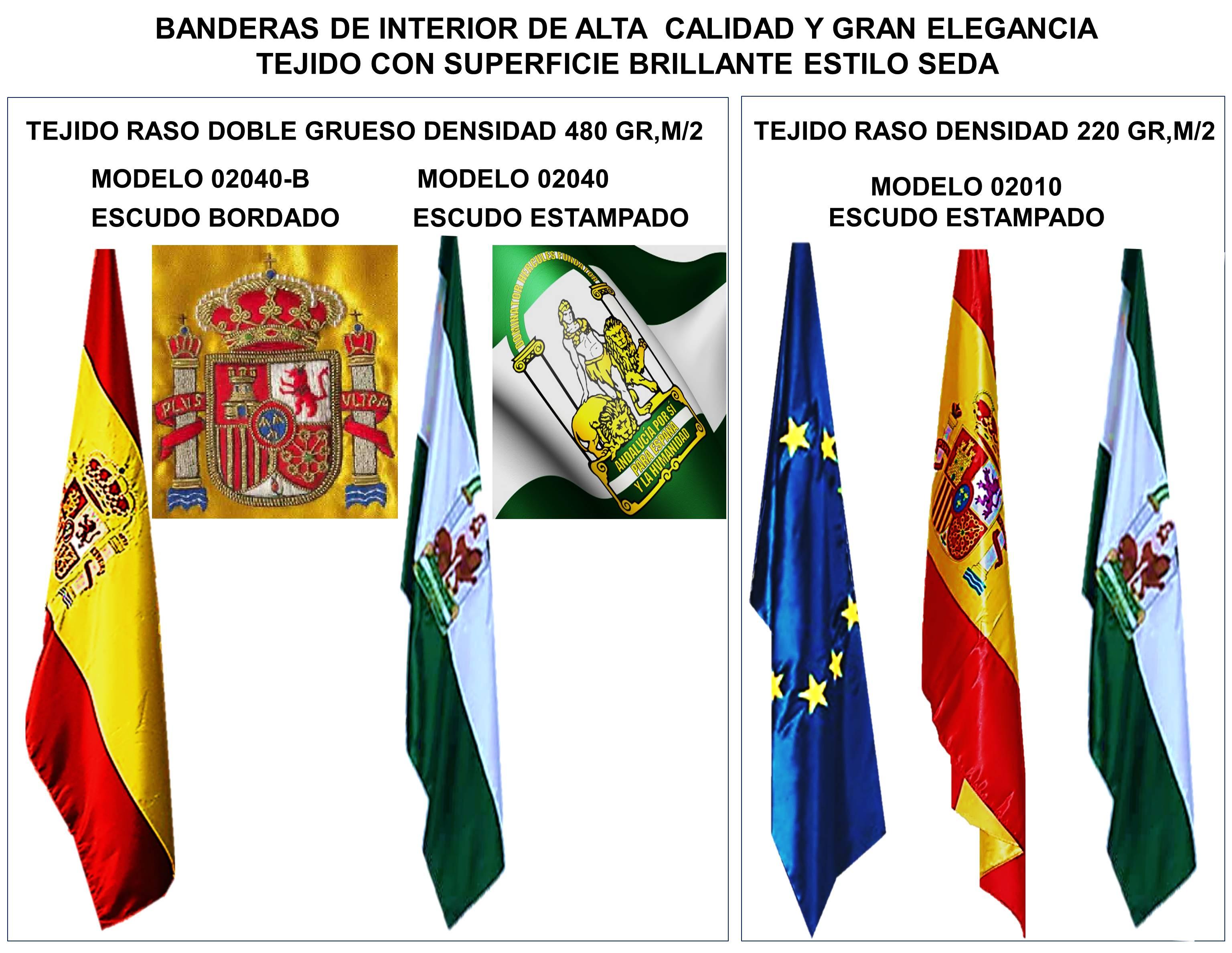 Comprar Banderas para interior oficinas despachos fabricacion y venta de todos los paises del mundo comunidad autonomía localidad personalizadas