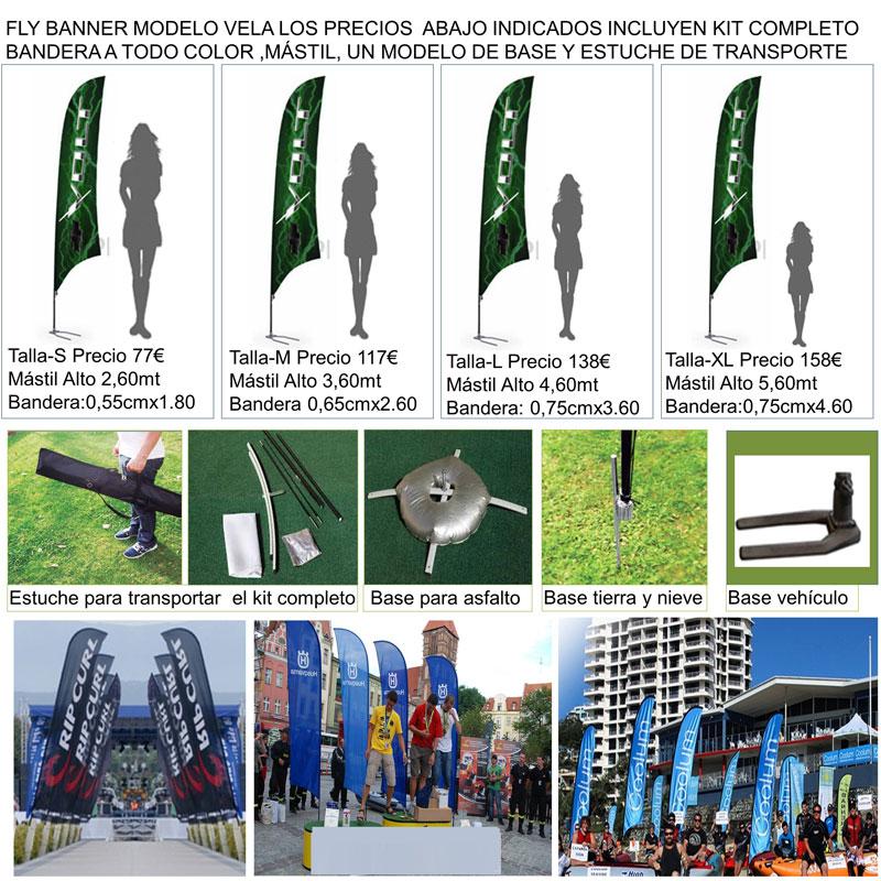 Fly banner modelo VELA