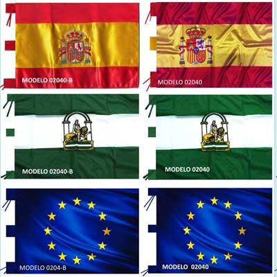 Venta de Banderas | Banderas para mástiles de interior.